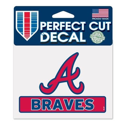 Atlanta Braves Decal 4.5x5.75 Perfect Cut Color - 4.5x5.75