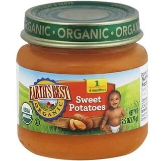 Earth's Best - Organic First Sweet Potatoes ( 12 - 2.5 OZ)