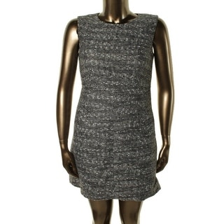 Diane Von Furstenberg Womens Carpreena Wool Blend Sleeveless Wear to Work Dress - 14