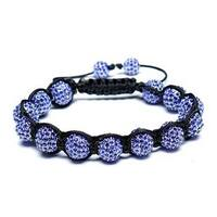 Bling Jewelry Bracelet Imitation Sapphire Crystal Alloy