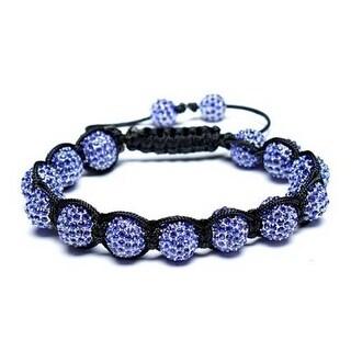 Bling Jewelry Bracelet Imitation Sapphire Crystal Alloy