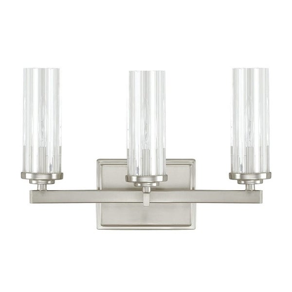 """Donny Osmond Home 8043-150 3 Light 14.5"""" Wide Bathroom Fixture from the Emery Collection"""