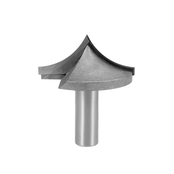 Router Bit 1/2 Shank 2 inches Dia Tapered End Mill, Carbide for Woodworking