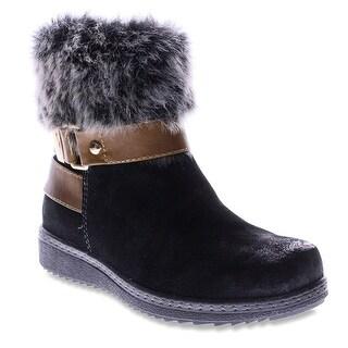 Spring Step Women's Popsicle Winter Boot - Black