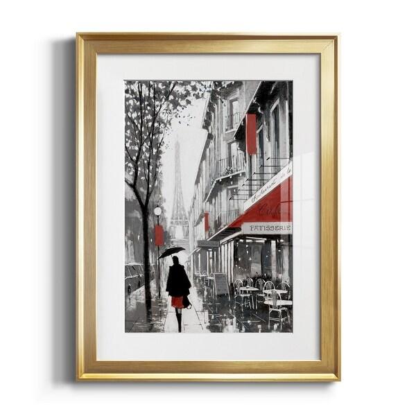 Rainy Paris I Premium Framed Print - Ready to Hang. Opens flyout.