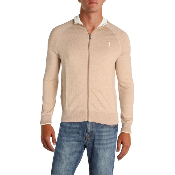 Shop Polo Ralph Lauren Mens Cardigan Sweater Full Zip Long