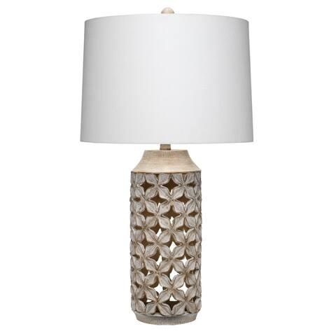 Alden Décor Flora Table Lamp