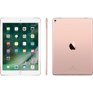 "Apple iPad Pro (128GB, Wi-Fi, (Rose Gold) 9.7"" Tablet (Certified Refurbished)"