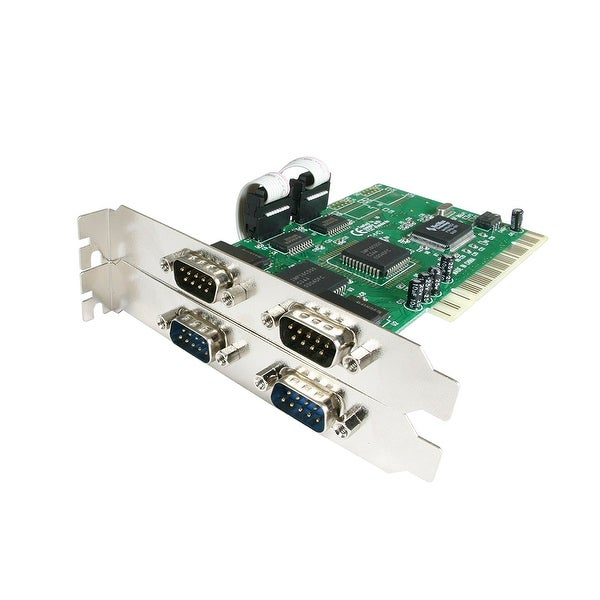 Startech - Pci4s550n 4Port Pci Serial Adapter Cardnserial Rs232 Card 16550 Uart