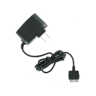 Unlimited Cellular Travel and Home Wall Charger for Microsoft Zune 4GB/82GB (Bla