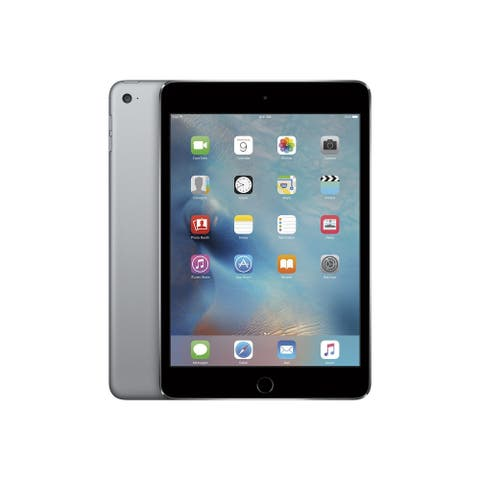 Refurbished Apple iPad Mini 4 Space Gray 128GB WiFi + Cellular Model