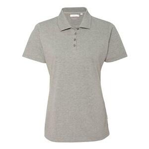 FeatherLite Women's Platinum Pique Sport Shirt - London Grey - S