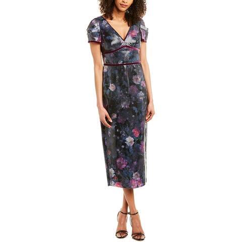 Marchesa Notte Sequin Gown