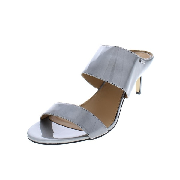 96dbe55e3d47 Shop Calvin Klein Womens Cecily Dress Sandals Embossed Leather ...