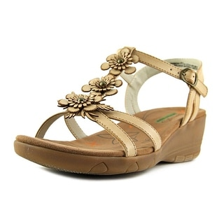 Baretraps Hammond Women Open Toe Leather Tan Sandals