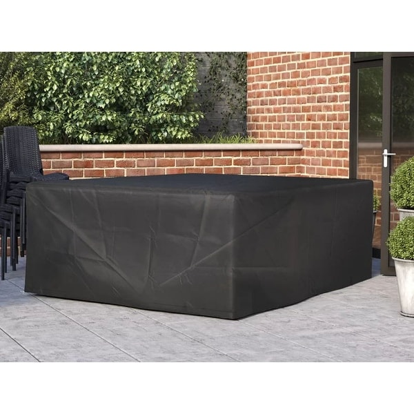 Ikatan Large Square Waterproof Outdoor Table and Sofa Set Cover by Havenside Home. Opens flyout.