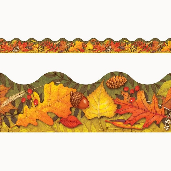 Leaves Of Autumn Trimmers Scalloped