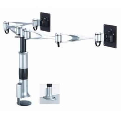 Cotytech DM-D1A2-C Dual Monitor Desk Mount - Dual Swing Arm