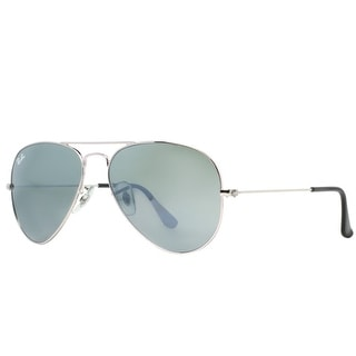 ray ban aviator sale  ray ban aviator rb 3025 unisex w3277 silver silver mirror sunglasses 58mm 14mm