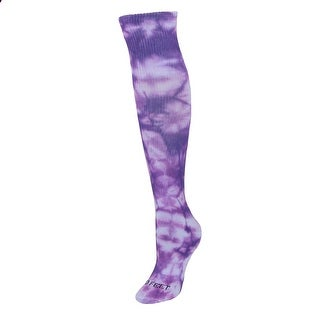 Pro Feet Women's Tie Dye Socks (Option: Purple)