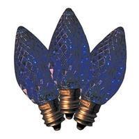 BU25LEDFC7-TBLA BX25 Christmas C7 LED Replacement Bulb  Blue