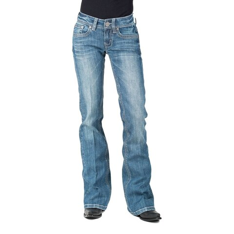 Stetson Western Jeans Womens Denim Light Wash