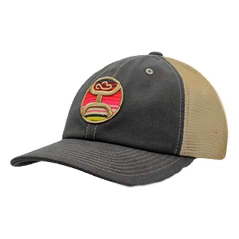 sports shoes 7a61a 7eb2a HOOey Hat Womens Trucker Kalahari Snapback One Size Brown Tan