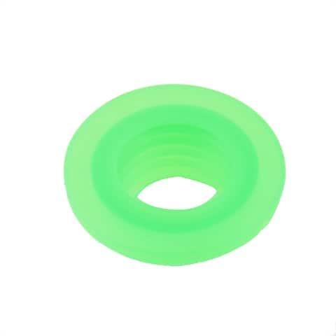 Washroom Silicone Deodorant Washing Machine Drain Sewer Pipe Sealing Plug Green