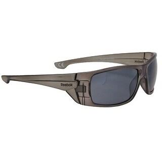 Reebok RB8 Sunglasses Smoke w/Silver Flash - smoke w/ silver flash