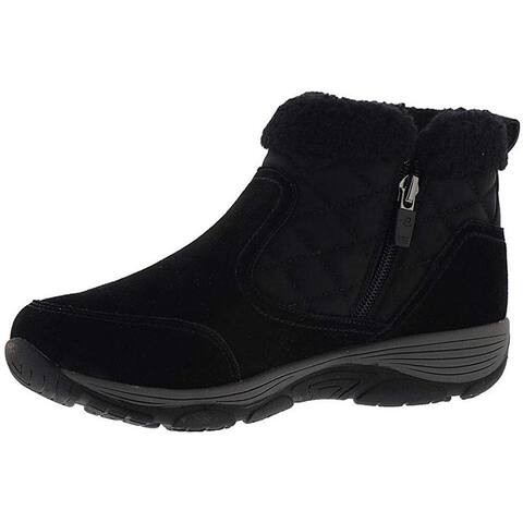 Easy Spirit Womens Vine Suede Round Toe Ankle Cold Weather Boots