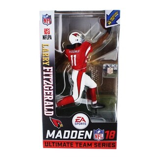 NFL Madden 18 Ultimate Team Series 1 Action Figure: Larry Fitzgerald (Arizona Cardinals Variant) - multi