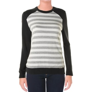MICHAEL Michael Kors Womens Long Sleeves Knit Sweater