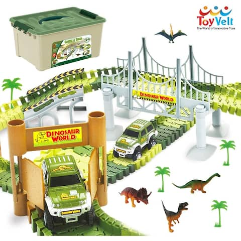 Dinosaur Toys Race Track