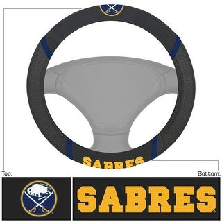 "NHL - Buffalo Sabres Steering Wheel Cover - 15"" x 15"""
