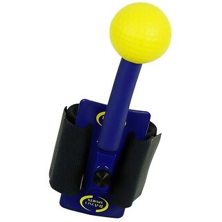 DaVinci Sports Golf Bio Movement Golf Training Aid For The Arm Blue/Yellow