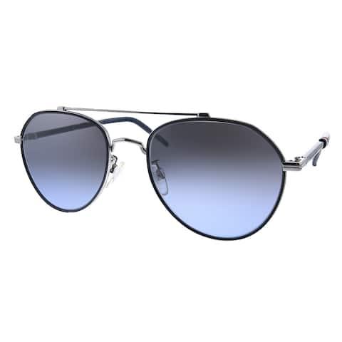 Tommy Hilfiger TH 1678/F/S 6LB Unisex Ruthenium Frame Grey Gradient Lens Sunglasses