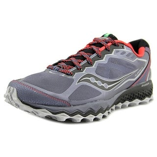 Saucony Breakthru 2 Men Round Toe Synthetic Gray Trail Running
