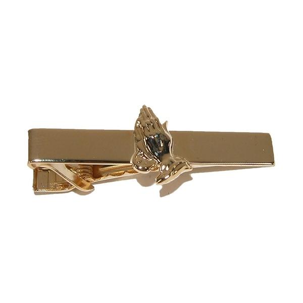 Jaymar Men's Prayer Hands Tie Bar Clip - One size