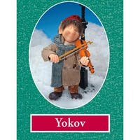 "10.5"" Zims The Elves Themselves Yokov Collectible Christmas Elf Figure - multi"