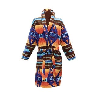 Women's Los Alamos Robe - Native American Print Bath Robe (2 options available)