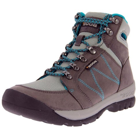 Bogs Outdoor Boots Womens Bend Mid Nubuck Mesh Hiking Anti Slip