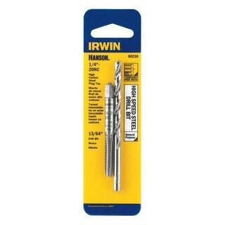 """Irwin 80230 Hanson High Speed Tap & Drill Bit, 1/4"""" - 20 NC Tap"""