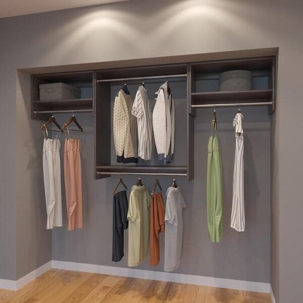 Online Closets: Shop Modular Closets 8FT Closet Organizer System