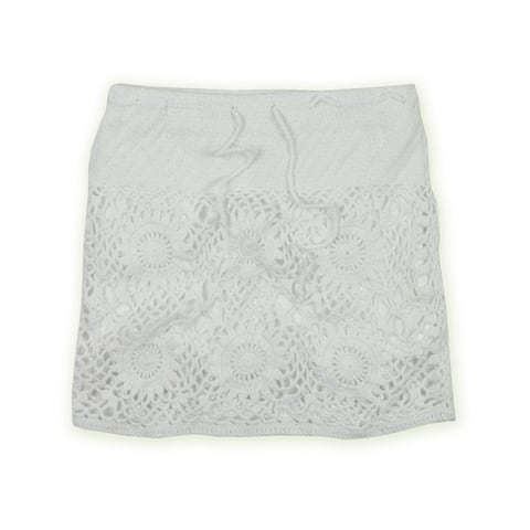 Aeropostale Womens Knitted High-Low Skirt