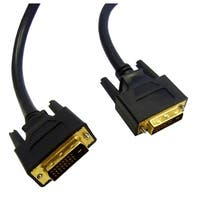 DVI-D Dual Link Cable, Black, DVI-D Male, 3 meter (10 foot)