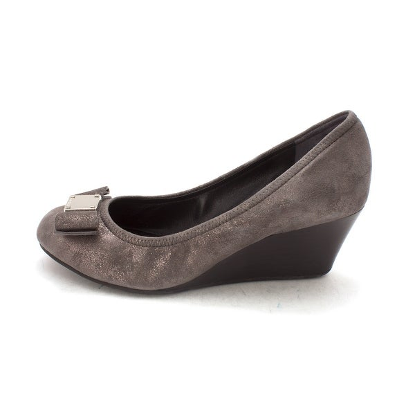 Cole Haan Womens 14A4337 Closed Toe Wedge Pumps - 6