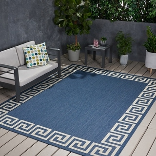Preveli Outdoor Area Rug by Christopher Knight Home