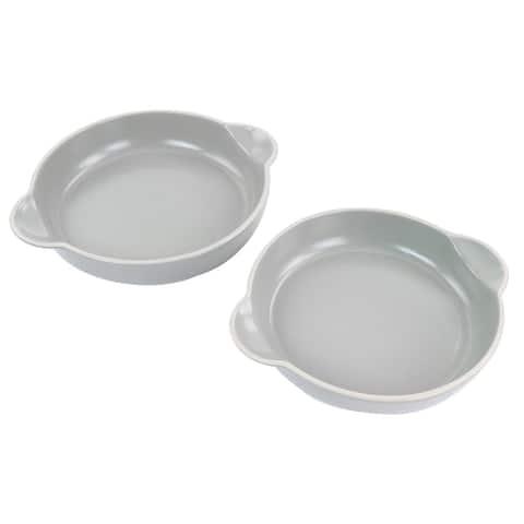 Gibson Home Rockaway 2 Piece Nesting Bakeware Bowl Set