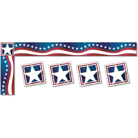 All Around the Board Trimmer, Stars & Stripes - One Size