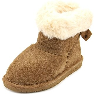 Bearpaw Harper Toddler Round Toe Suede Winter Boot